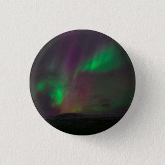 Chapa Redonda De 2,5 Cm Aurora Borealis