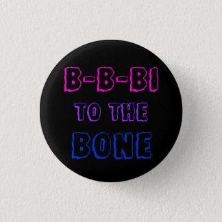 Chapa Redonda De 2,5 Cm B-B-BI a la insignia del hueso