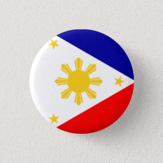 Chapa Redonda De 2,5 Cm Bandera de Filipinas