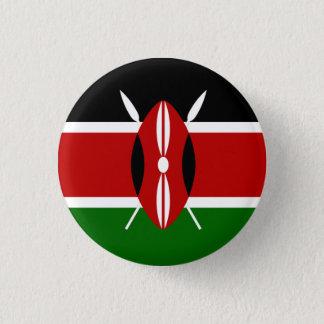 Chapa Redonda De 2,5 Cm Bandera de Kenia