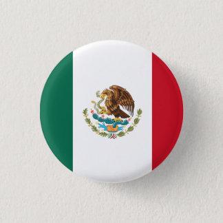 Chapa Redonda De 2,5 Cm Bandera de México