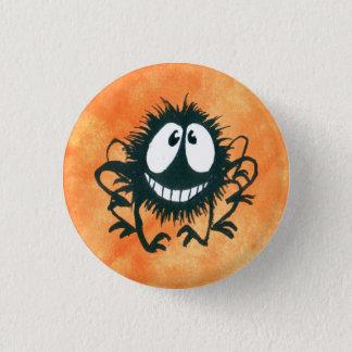 Chapa Redonda De 2,5 Cm ¡Botón Kooky lindo de la araña de Halloween!