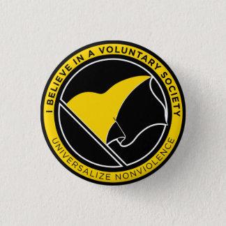 Chapa Redonda De 2,5 Cm Botones de Voluntaryist