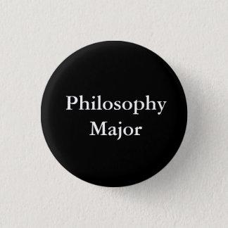 Chapa Redonda De 2,5 Cm Comandante de la filosofía