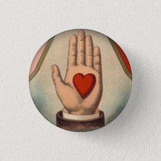 Chapa Redonda De 2,5 Cm Corazón a disposición