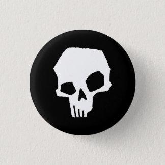 Chapa Redonda De 2,5 Cm Cráneo 24