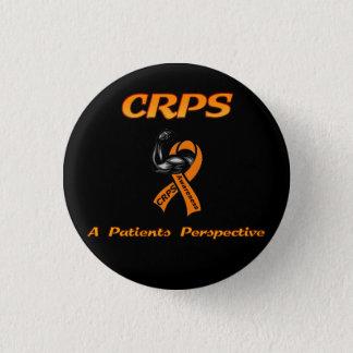 Chapa Redonda De 2,5 Cm CRPS una insignia de la perspectiva de los