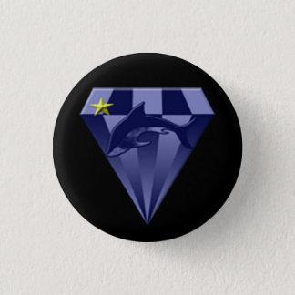 Chapa Redonda De 2,5 Cm DSX: Comandante de la estrella