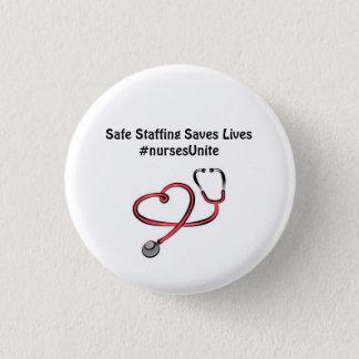 Chapa Redonda De 2,5 Cm El proveer de personal seguro ahorra vidas….