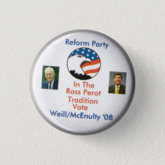 Chapa Redonda De 2,5 Cm Fiesta Ted Weill Frank McEnulty 2008 de la reforma