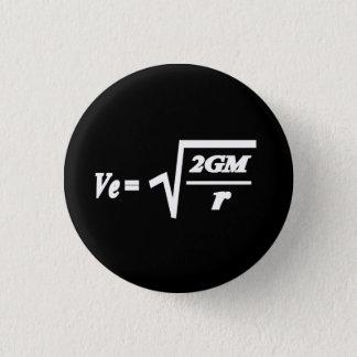 Chapa Redonda De 2,5 Cm Fórmula de la velocidad de escape