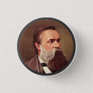 Chapa Redonda De 2,5 Cm Friedrich Engels - Pin de la solapa