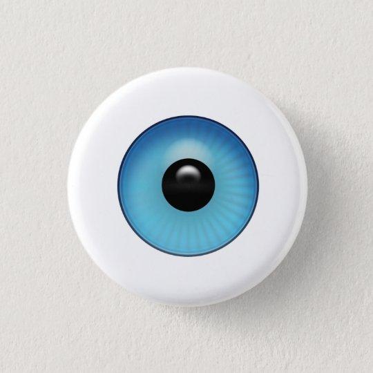 Chapa Redonda De 2,5 Cm Globo del ojo