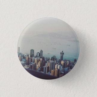 Chapa Redonda De 2,5 Cm Hong Kong desde arriba