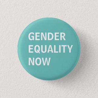 Chapa Redonda De 2,5 Cm Igualdad de género ahora