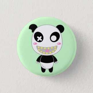 Chapa Redonda De 2,5 Cm Ijimekko la panda