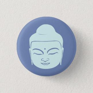 Chapa Redonda De 2,5 Cm Insignia de Buda. La paz esté con usted