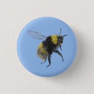 Chapa Redonda De 2,5 Cm Insignia de la abeja