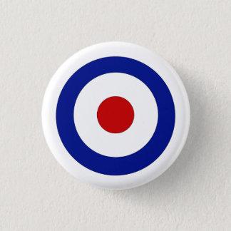 Chapa Redonda De 2,5 Cm Insignia del círculo de la MOD