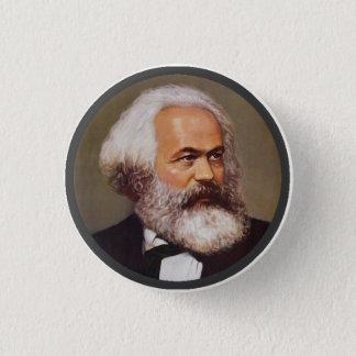 Chapa Redonda De 2,5 Cm Karl Marx - Pin de la solapa