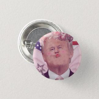 Chapa Redonda De 2,5 Cm Kawaii Donald Trump (aka la princesa de hadas)
