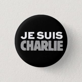 Chapa Redonda De 2,5 Cm Lema Charlie-Universal de Je Suis Charlie-Yo
