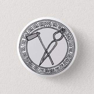 Chapa Redonda De 2,5 Cm ¡Los olímpicos! Insignia del símbolo de