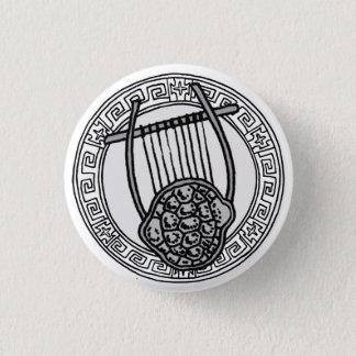 Chapa Redonda De 2,5 Cm ¡Los olímpicos! Insignia del símbolo de Apolo/de