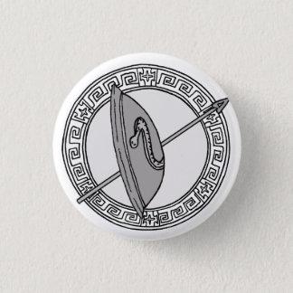 Chapa Redonda De 2,5 Cm ¡Los olímpicos! Insignia del símbolo de Ares/de