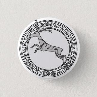 Chapa Redonda De 2,5 Cm ¡Los olímpicos! Insignia del símbolo de Artemis/de