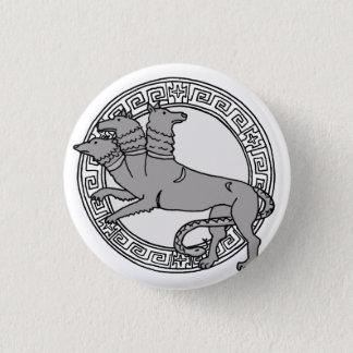 Chapa Redonda De 2,5 Cm ¡Los olímpicos! Insignia del símbolo de Hades/de