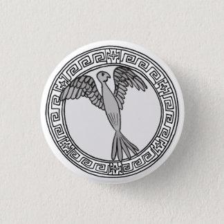 Chapa Redonda De 2,5 Cm ¡Los olímpicos! Insignia del símbolo de Hera/de