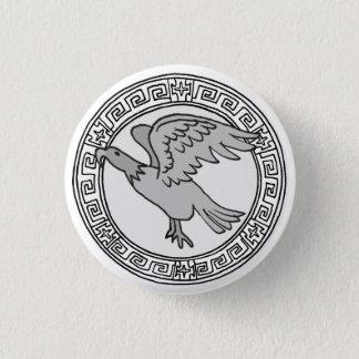 Chapa Redonda De 2,5 Cm ¡Los olímpicos! Insignia del símbolo de Zeus/de