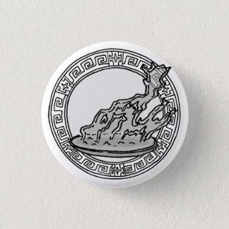 Chapa Redonda De 2,5 Cm ¡Los olímpicos! Insignia del símbolo del Hestia/de