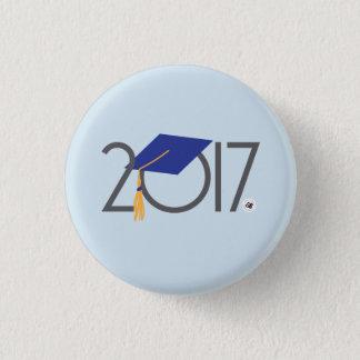 Chapa Redonda De 2,5 Cm Mini Pin 2017 de la graduación