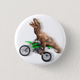 Chapa Redonda De 2,5 Cm Motocicleta del rex de T - paseo del rex de t -