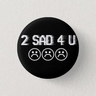 Chapa Redonda De 2,5 Cm Muchachos tristes