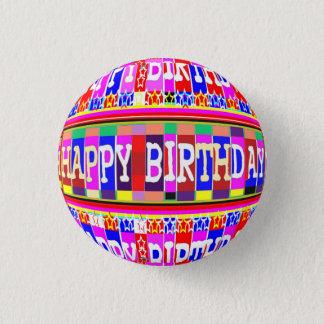 Chapa Redonda De 2,5 Cm MUCHAS maneras de decir FELIZ cumpleaños