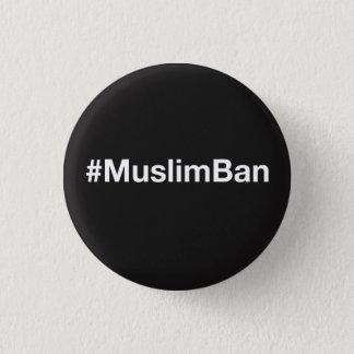 Chapa Redonda De 2,5 Cm #MuslimBan
