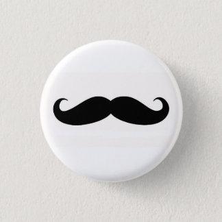 Chapa Redonda De 2,5 Cm Mustachify Pin