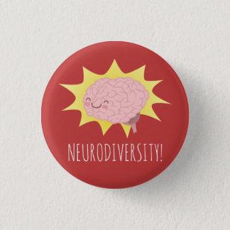Chapa Redonda De 2,5 Cm ¡Neurodiversity!