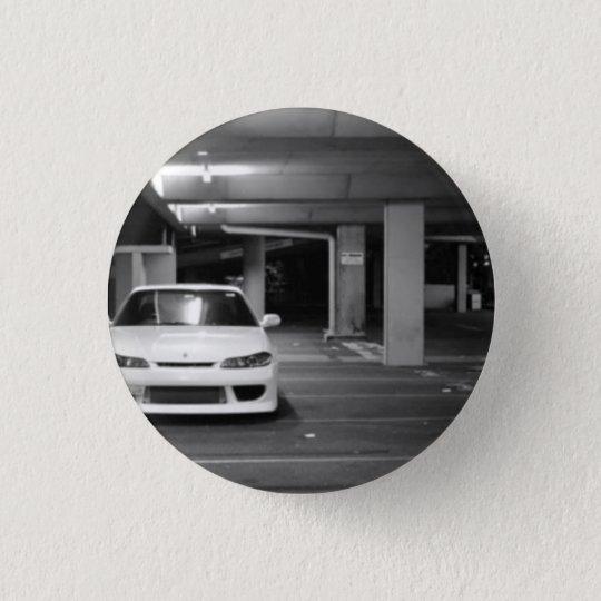 Chapa Redonda De 2,5 Cm Nissan Silvia pin/chapa