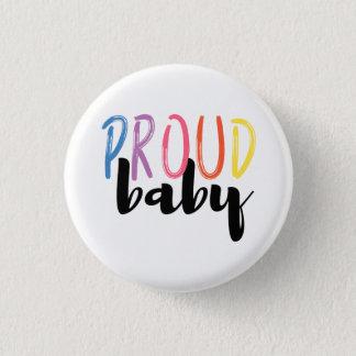 Chapa Redonda De 2,5 Cm Orgullo gay - Pin orgulloso del bebé