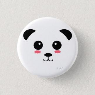 Chapa Redonda De 2,5 Cm Panda bonita