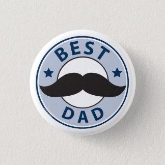 Chapa Redonda De 2,5 Cm Papá del día de padre el mejor