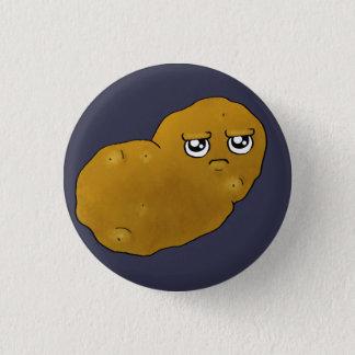 Chapa Redonda De 2,5 Cm Patata feliz
