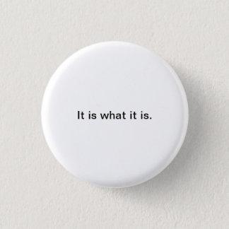 Chapa Redonda De 2,5 Cm Pequeñas palabras: Es cuáles es