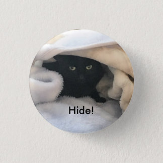 Chapa Redonda De 2,5 Cm Piel como un gato
