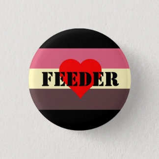 Chapa Redonda De 2,5 Cm Pin del alimentador de la bandera del orgullo de