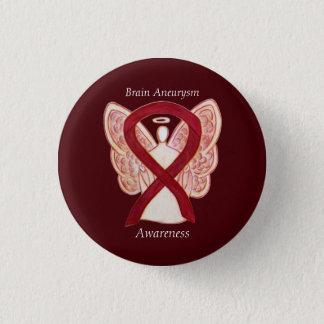 Chapa Redonda De 2,5 Cm Pin del arte de la cinta del ángel de la